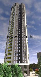 "STAN 118,30 m2, ""TUZLA TOWER"", STUPINE, TUZLA"