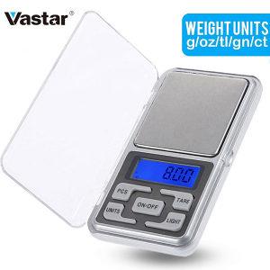 Mini digitalna precizna vaga 0.01 do 200 gr