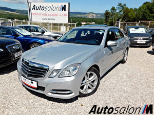 Mercedes E350 CDI 7G-tronic Avantgarde BiH Table