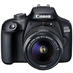 Canon EOS 2000D 18-55mm III BK