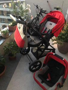 Dječija kolica 3u1 Fappapedretti 3chic