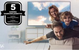 Akcija >>> Samsung 4K TV GARANCIJA 5 GODINA !!!