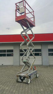Škarasta dizalica - radna platforma