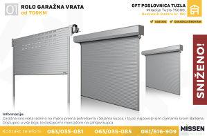 Garažna vrata - Rolo