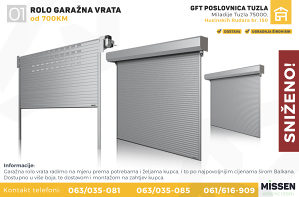 Garažna vrata - Rolo sekciona