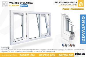 PVC Stolarija - DECCO 6.KOMORNI PROFIL Prozori i VRATA