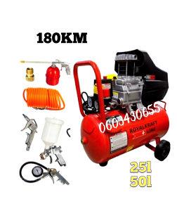 Zračni kompresor 50/25l+garancija 2godine