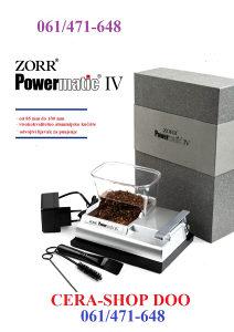 Masinica za motanje cigareta-Zorr Powermatic 4