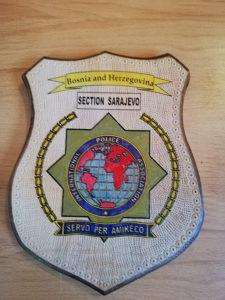 REZBARIJA AMBLEM INTERNATIONAL POLICE ASSOCIATION