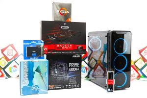 Gaming PC Aquarius 10; R5 3600; RX 570; 240GB SSD; 8GB