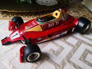 Burago Ferrari 312 T2 NIKI LAUDA 1:14 1975.