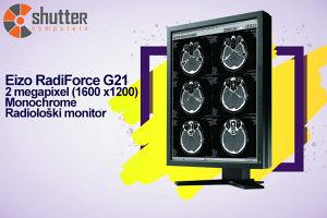 Radiološki monitor Eizo RadiForce G21 20.1 inch (51 cm)