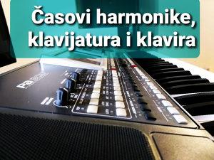 Casovi klavijatura, klavira, harmonike