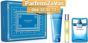 Versace Man Eau Fraiche SET 100ml + 150ml SG + 10ml M 100 ml