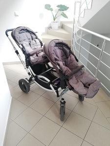 ABC design kolica za blizance