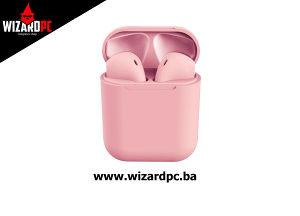Slušalice Bluetooth InPods 12 PRO Rosa (11667)