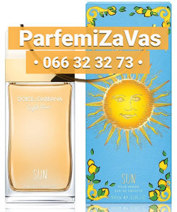 Dolce & Gabbana Light Blue Sun 100ml Tester Ž 100 ml