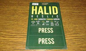 Press karta Halid Bešlić