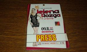 Press Karta Jelena Rozga