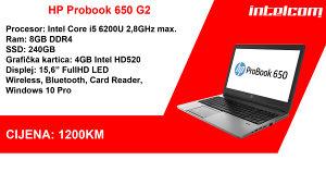 HP Probook 650 G2 Core i5 6th gen.