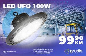 LED Industrijska rasvjeta 100W UFO reflektor