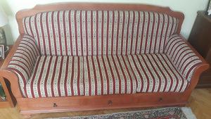Sobna garnitura + stol