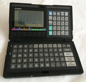 CASIO DIGITAL DIARY SF 4000 Made in Japan