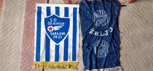 2 retro zastave nk Željo-made in YU
