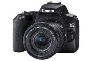 Fotoaparat CANON EOS250D1855IS BK