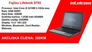 Fujitsu Lifebook S792 Core i5 3rd gen.