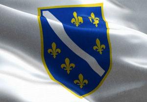 Zastava ljiljan 250x150 cm