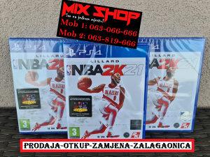 NBA 2K21 21 ORIGINAL IGRA za Playstation 4 PS4 košarka