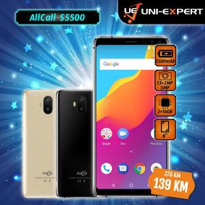 AllCall Smartphone S5500 Gold/ Black