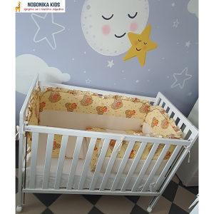 Krevetac za bebe madrac i komplet ogradica sa dostavom