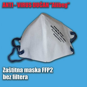 Zaštitna maska FPP1 sa filterom
