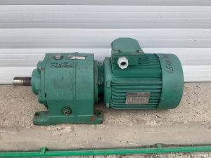 Elektro motor reduktor 1.5 kw 1450-72o/ min