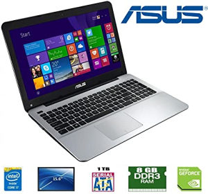 Laptop ASUS K555L 15,6, i5-5200U,8GB,1TB,940M 2GB
