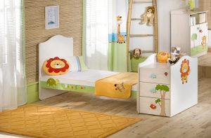 Djeciji krevetac çilek 3u1