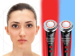 Ultrasonični uređaj za čiščenje lica sa lampi...