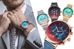 Muški ručni sat Gentleman, poslovna elegancija