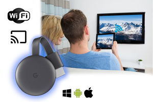 Chromecast 3, Full HD, HDMI, siva