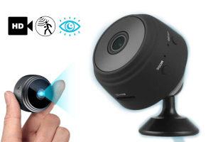 Nadzorna mini kamera SafeHome, WiFi, dnevno-noćno...