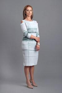 Ženska haljina Kazablanka 10, vel 44, šarena