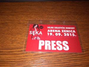 Press karta Seka Aleksic
