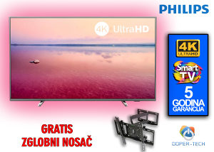 "TV PHILIPS SMART 4K LED 65"" 65PUS6754/12 AMBILIGHT"