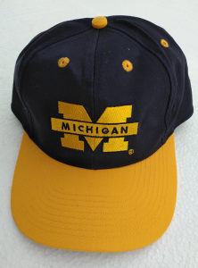 Michigan kapa kačket US College Collection original novo