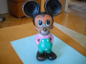Stara Disney figura Miki Maus 1968. god.