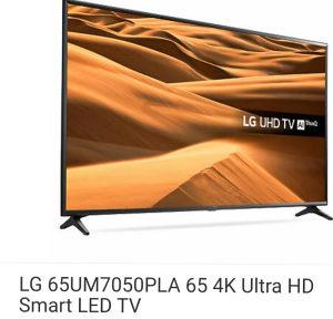 LG TV 65 UM7050PLA LG