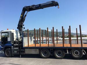MAN TGA 35 440 kamion sa kranom