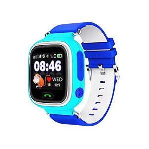 Smart Watch Q90 GPS blue black friday